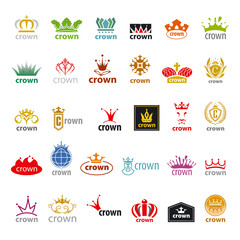 biggest collection of vector logos crown