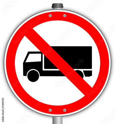 lkw verboten schild 141015 svg03 stockfotos und. Black Bedroom Furniture Sets. Home Design Ideas