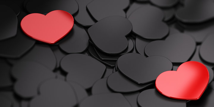 Separated Love Background