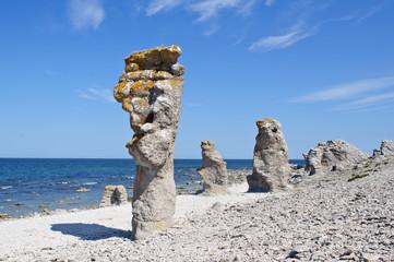 Gotland rocks