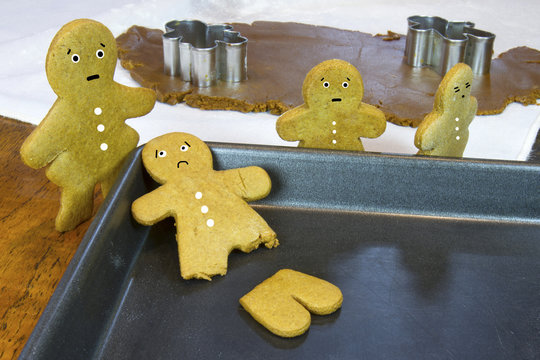 Christmas Cookie Disaster