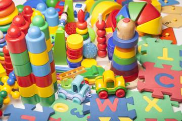 very many toys