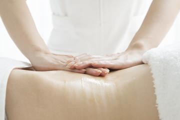 Massage around the waist