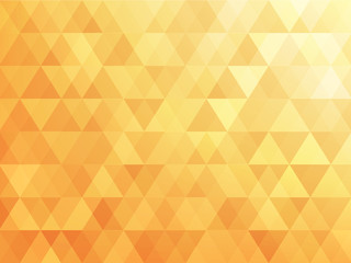 triangle abstract background of yellow