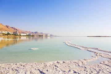 Landscape Dead Sea coastline