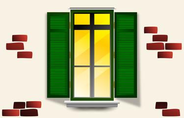Cerca immagini finestra aperta for Disegno di finestra aperta
