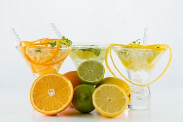 Fresh triple citrus mojito