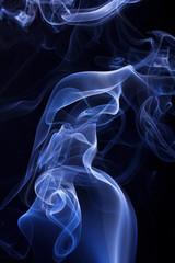 Blue smoke background