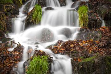 Quellwasser Wasserfall