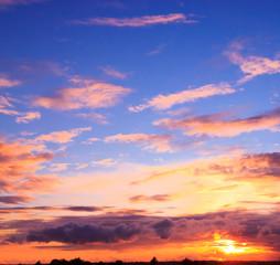 Sunset Paradise Idyllic Wallpaper