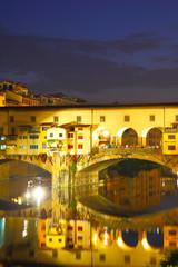 Wall Mural - Ponte Vecchio bridge in Florence