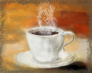 Coffee paint