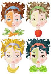 Vegetable Beauty Masks