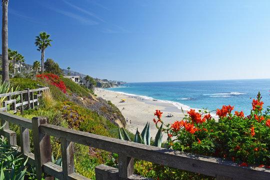 Laguna Beach Coastline & Gardens