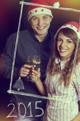 Cheers Santa Claus