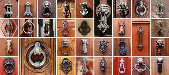 Set of 31 old doors
