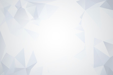 Abstract geometric style polygonal background