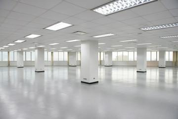 Empty office floor