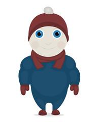 Child in Winter Cloth