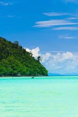 Idyllic Place Lagoon Seascape