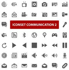Top Iconset - Communication II