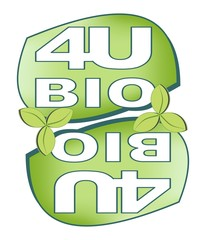 Label for bio product with the inscription Bio for you