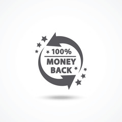 Money back label