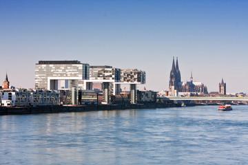 Köln, Rheinpanorama