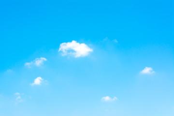 pattern Cloud Against The Blue Sky