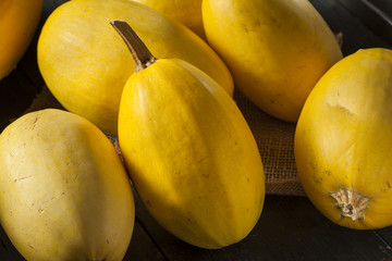 Raw Organic Yellow Spaghetti Squash