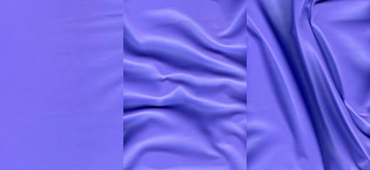 Set of ultramarine leather textures