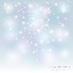 Starry Christmas background