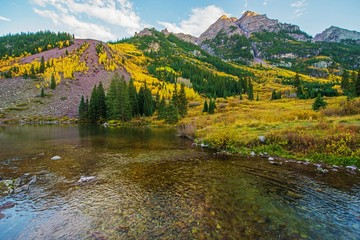 Wall Mural - Colorado Fall Scenery