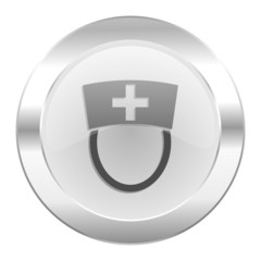 nurse chrome web icon isolated