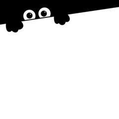 Black icon animals. Raster.