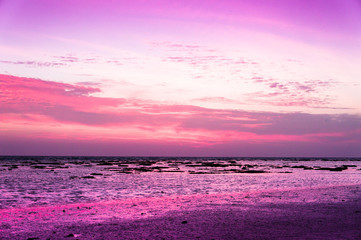 Papiers peints Rose banbon Sunset Glow Night is Coming