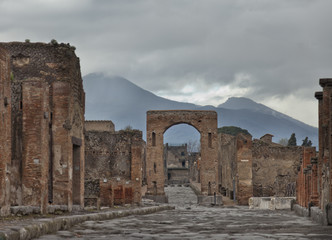 Winter in Pompei.