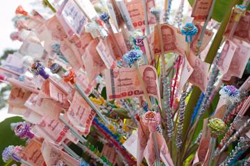 Money for Kathin Ceremony