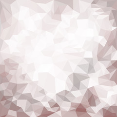 Blended shining abstract geometric polygonal background