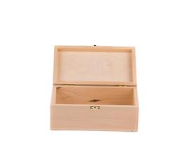 Wooden box closeup