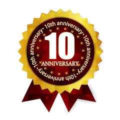 メダル フレーム 10周年
