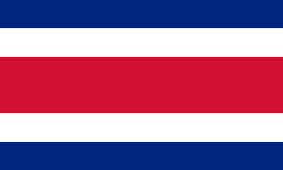 Civil flag of Costa Rica