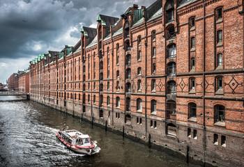 Hamburg Speicherstadt warehouse district, Germany
