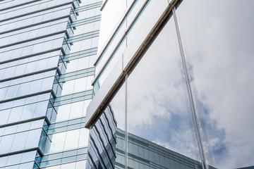 Office glass windows background