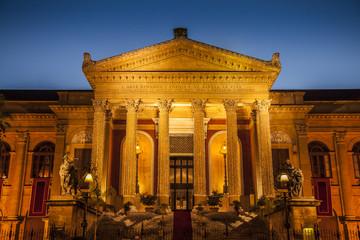 maximum theater in Palermo
