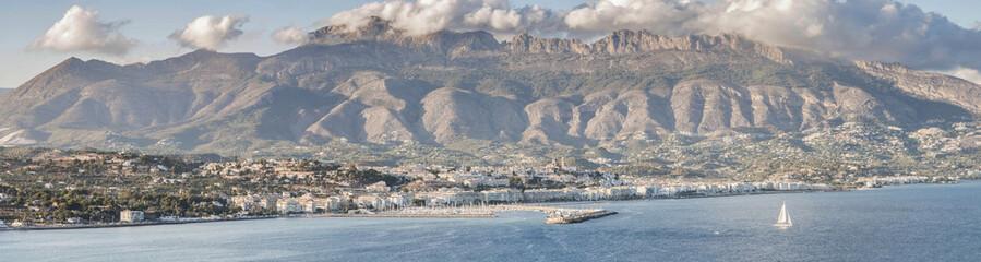 View of Altea, near Alicante, Spain.