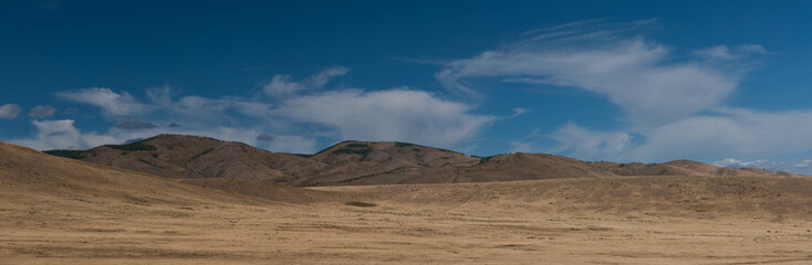 Boundless steppe