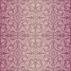 Pink baroque pattern