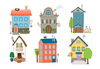 Sweet Home Vector Illustration