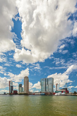 Rotterdam Rijnhaven in The Netherlands